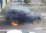 مجهولون يلقون قنبلة بدائية على سيارة شرطة بالهرم.. ولا إصابات