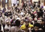 طلاب الإخوان يقتحمون البوابة الغربية لجامعة حلوان ويحرقون مكاتب الأمن الإداري
