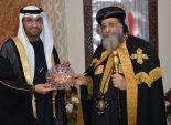 وزير الدولة الإماراتي خلال لقاءه بـ