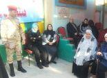 مرسى مطروح: حشود بالمراكز والمدن وإقبال متوسط فى القرى والنجوع