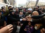 بالفيديو والصور| الشرطة النسائية أثناء توزيع