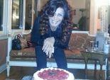 بالصور| نجوي فؤاد تحتفل بعيد ميلادها الواحد والسبعين وتنتظر
