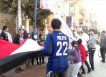 بالصور  تظاهرة لأولتراس سيساوي ببني سويف تطالب بإعدام الإخوان