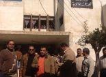 أصحاب الورش الصغيرة يتظاهرون أمام محطة كهرباء المنزلة