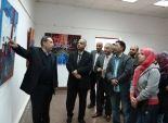 جمال اللفظ الالهي وتراكيب الآيات القرآنية في معرض الاقصر بكلية الفنون الجميلة