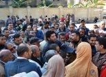 إضراب عمال شركة مياه الشرب والصرف الصحي ببلبيس