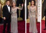 انجلينا جولي تحضر الاوسكار بفستان من تصميم إيلي صعب