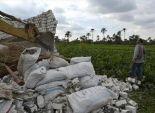 إزالة 600 حالة تعدى على الأراضي الزراعية والأراضي المملوكة للدولة بقنا