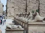 عاجل| مدير أمن الأقصر يعاين معبد الكرنك بعد حادث الانفجار