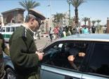 مواطنو ابوقرقاص حبسوا ''موظفى '' ادارة المرور داخل مكاتبهم