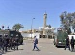 قوات الأمن تغلق الشوارع المحيطة بـ