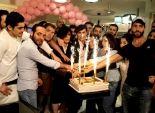 جو رعد يحتفل بعيد الام بتصفيف شعر 60 أم لبنانية