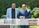 السيسي يلتقي الشاعر عبد الرحمن الأبنودي