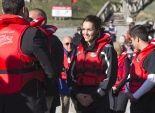 بالصور| الأمير ويليام وزوجته في رحلة بالقارب على أحد شواطئ نيوزلاندا