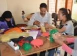 بالتعاون مع منظمة ايساك.. ورش لتعليم أبناء الصعيد تصنيع العرائس الصينية