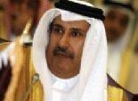 رئيس الوزراء القطري يستقبل الدكتور نبيل العربي