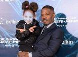 بالصور| جيمي فوكس يحتفل مع ابنته بالعرض الأول لفيلمه الجديد