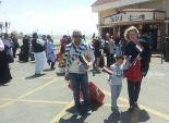 وصول 220 سائحا إيطاليا إلى مطار مطروح الدولي