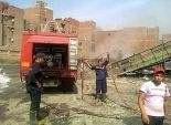 الحماية المدنية تخمد حريق بحظيرة مواشي بالمنوفية