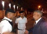بالصور| مدير أمن القاهرة يتفقد الأكمنة الثابتة ويطمئن على رجال الشرطة