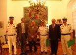 بالصور  وزير الثقافة يكرم قيادات شرطة السياحة والآثار بالأوبرا