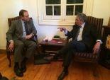 عمرو موسي يلتقي سفير استراليا لمناقشة قضايا الاهتمام المشترك
