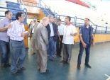 وزير الرياضة يتفقد الملعب الفرعى للنادى المصرى