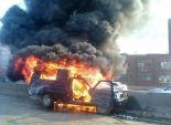 ضبط تشكيل إرهابي تخصص في حرق سيارات ضباط الشرطة ببني سويف