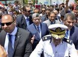 وزير الداخلية يتفقد قسم شرطة الجيزة ويلتقى قيادات الامن بالمحافظة