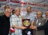 نقابة المهن الرياضية بالجيزة تُكرم حسن شحاتة