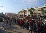 مظاهرة إخوانية للتنديد بنقل معتقلي بورسعيد إلى سجن جمصة دون إخبارهم