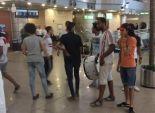 ألتراس وايت نايتس تستقبل الزمالك في مطار القاهرة
