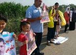 سلاسل بشرية محدودة لإخوان الشرقية للمطالبة بالإفراج عن أعضاء الجماعة المحبوسين