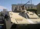 تواجد مكثف لقوات الجيش والشرطة بميادين السويس ونفق أحمد حمدى