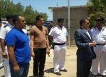 بالصور| مدير أمن البحر الأحمر يتفقد نقاط تأمين الطرق والأفواج السياحية