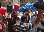 انقطاع المياه في عرب الشريفة بأسيوط 15 يوما