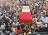 تشييع جثمان شهيد العملية الإرهابية بالعريش فجرًا وأهالي المجند يرفضون الجنازة العسكرية