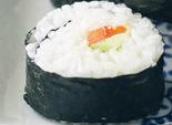غداء: سوشي الأرز والجزر