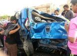 مصرع شرطى وإصابة 5 بينهم ضابط فى انقلاب سيارة بطريق مطروح - سيوه
