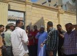 وقفة احتجاجية لأصحاب المخابز بكفر سعد في دمياط اعتراضا على جودة الدقيق