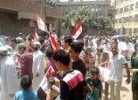 بالصور| مسيرة لإخوان المنوفية احتجاجا على ارتفاع الاسعار وانقطاع الكهرباء والعدوان على غزة