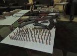 ضبط 3 قطع سلاح نارى و48 طلقة بالفتح في أسيوط