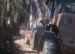 حملة لإزالة 70 حالة تعدى على الأراضي الزارعية وأملاك الدولة بالغربية