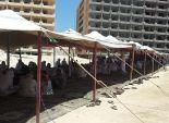 أهالي الضحايا المدنيين في حادث العلمين الإرهابي يرفضون تسلم جثث ذويهم