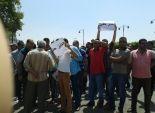 وقفة احتجاجية لعمال محاجر السويس أمام ديوان المحافظة للمطالبة بحقوقهم