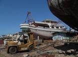 انقطاع الكهرباء يهدد صناعة السفن في دمياط
