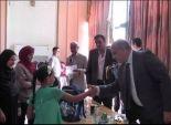 مدير أمن القليوبية يوزع المستلزمات المدرسية على أبناء شهداء الشرطة