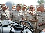 بالصور  وزير الدفاع يتفقد عدد من الأنشطة البحثية بالقوات المسلحة
