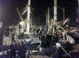 «محلب» يتابع حادث انهيار مصنع العبور.. والنيابة تأمر بتشكيل لجنة هندسية للوقوف على ملابسات الحادث