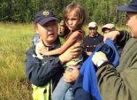 بالصور  العثور على طفلة روسية صغيرة
